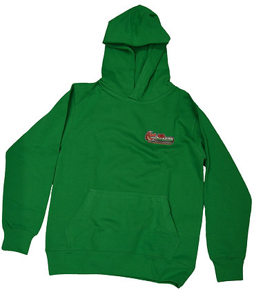 Red Dragon Green Childrens Hoodie