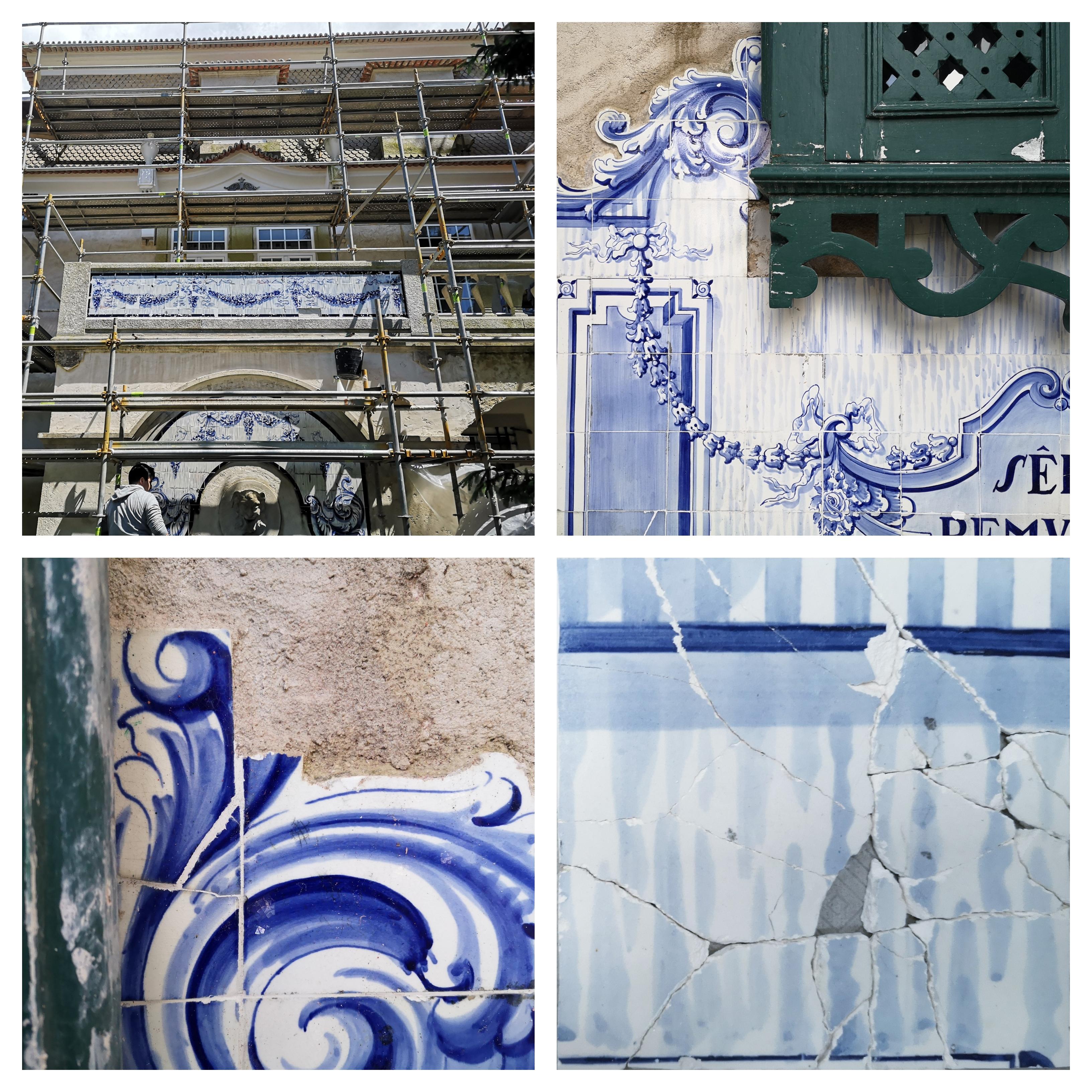 estado de conservação - painéis azulejares