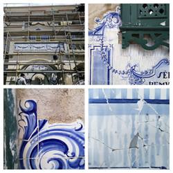 estado de conservação - painéis azulejar