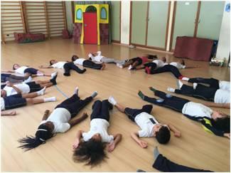 Proyecto de Yoga en Aulas ENCLAVE