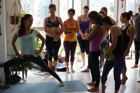 Formación de Yoga certificada