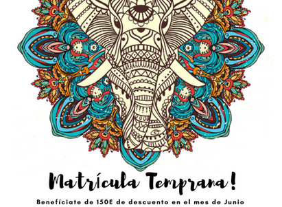 ¡Shri Ganesha! Matrícula Temprana Madrid