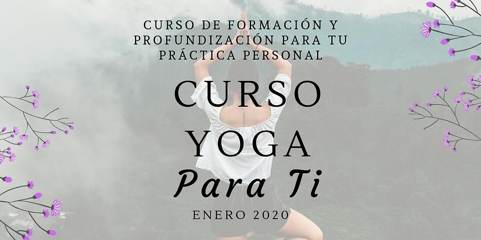Curso de Yoga para ti