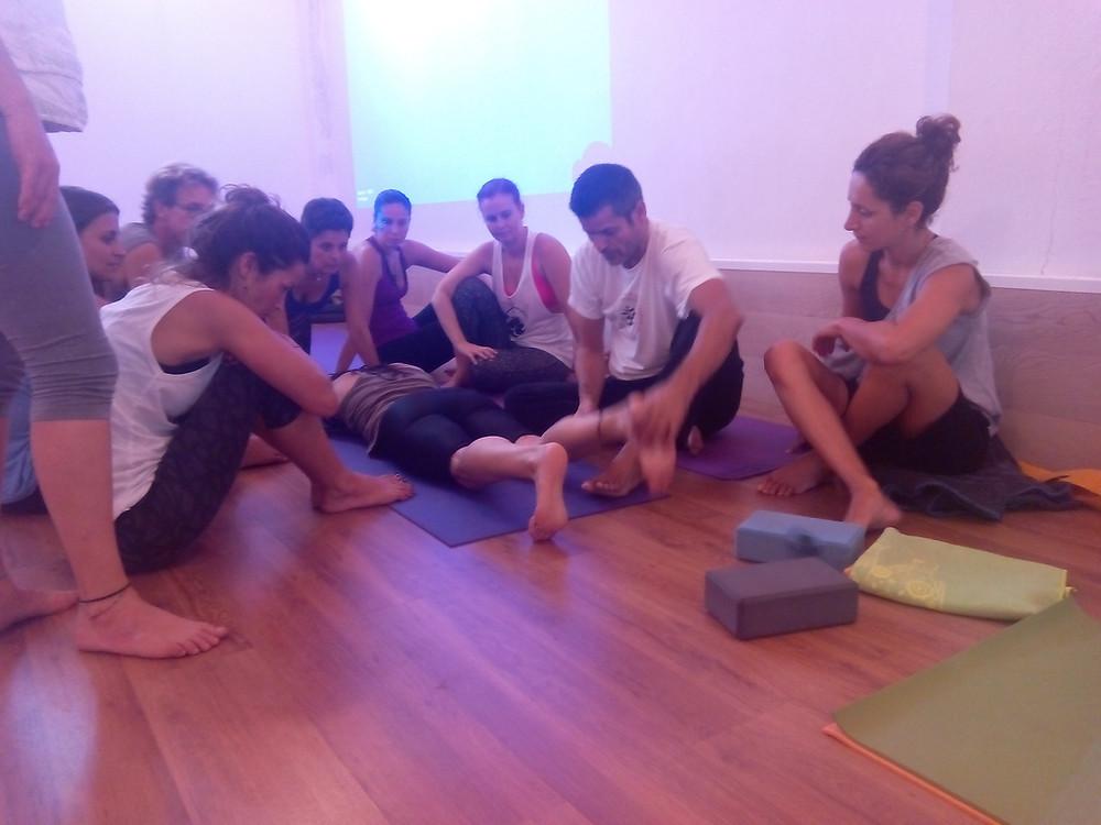 Formación certificada Hatha Yoga Canarias Madrid