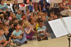 students at Concert at St Patricks Epico