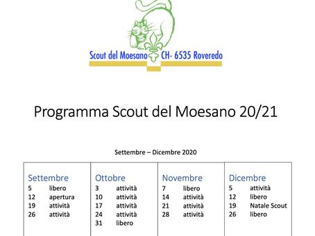 Apertura Anno Scout 2020/2021
