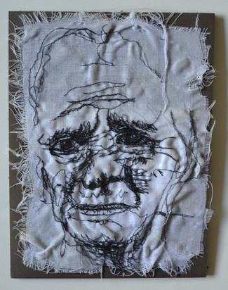 Tissu cousu à la machine  Machine-sewed fabric