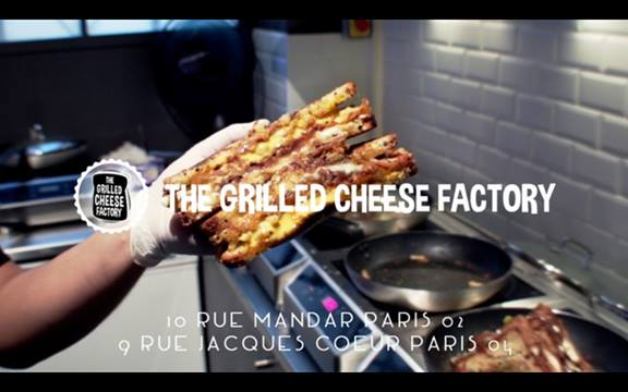 The Grilled Cheese Factory - Paris