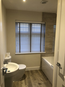 Timber Venetian - Bathroom