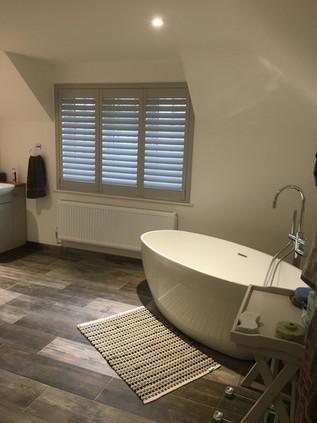 Full Height Shutter - Bathroom