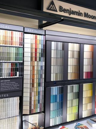 Benjamin Moore Colour Display