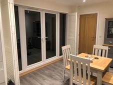 Door Shutters - Kitchen Open