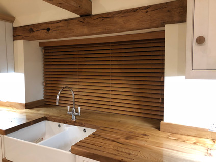 Timber Venetian - Kitchen