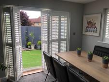 Door Shutters - Dining Room