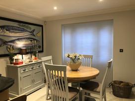 Pleated Blind - Dinning Room