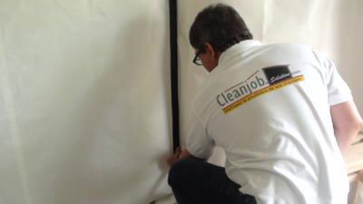 Barrière anti poussière Cleanjob