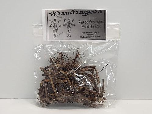 RAIZ DE MANDRAGORA  28gr MANDRAKE ROOT WICCAN, RITUAL, SPELL SPECIAL ON SALE !