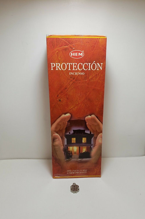 INCIENSO PROTECCION 60 PCS PROTEGE DE ENERGIAS NEGATIVAS ORACION Y AMULETO INCLU