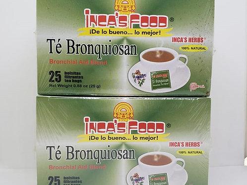 BRONQUIOSAN 50 TEA BAGS BRONQUIOS GRIPE ASMA / BRONCHITS FLU ASTHMA 100% NATURAL