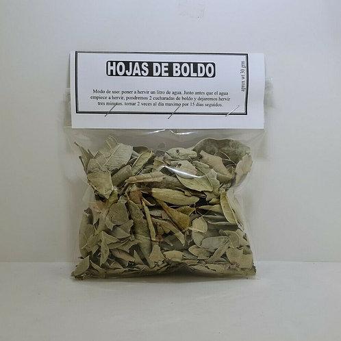 HOJAS DE BOLDO 30 GR HIGADO GRASO,INDIGESTION,VESICULA, CONGESTION DE PECHO,TOS