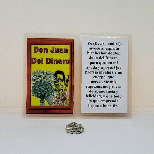 DON JUAN DEL DINERO ESTAMPITA Y AMULETO GRATIS INCLUIDO BUY 2 GET 1 FREE !!