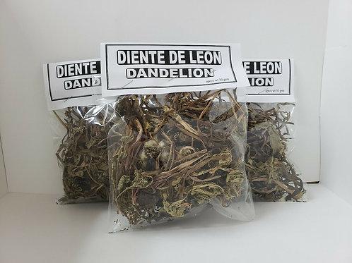 DIENTE DE LEON/DANDELION HERB 90 GR ANTIOXIDANTE ANTIINFLAMATORIO DESINTOXICANTE