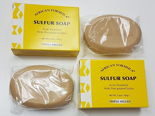 SULFUR SOAP 2 PCS / JABON DE AZUFRE ACNE 3.5oz SPECIAL ON SALE !