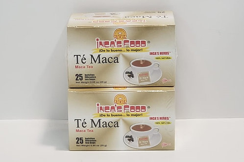 MACA TEA 50 BAGS 100% NATURAL ENERGY GREAT QUALITY DIRECT FROM PERU !