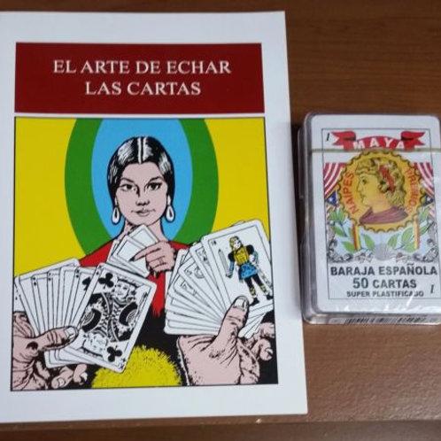 BARAJA ESPANOLA 50 CARTAS / LIBRO INCLUIDO SPANISH f PLAYING CARDS DECK