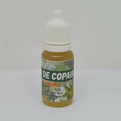 COPAIBA RESINA OIL 100% PURO 15 ml ANTIINFLAMATORIO EXPECTORANTE DIURETICO TOS