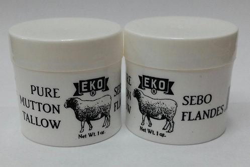 CEBO DE CARNERO EKO BRAND 2PCS PURE MUTTON TALLOW/ SEBO FLANDES