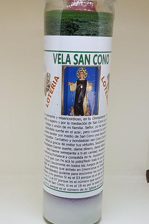 VELA DE JUGADORES SAN CONO ATRAE DINERO Y SUERTE EN LOS JUEGOS DE AZAR !