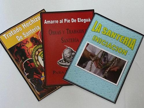 SANTERÍA BOOKS NEW ON SALE LIBROS DE SANTERIA BRAND NEW 3 Pcs SPECIAL ON SALE !!