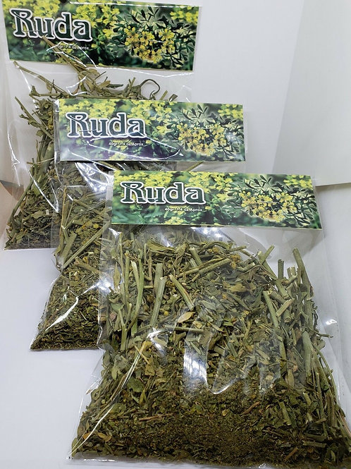 RUDA 3 PACK X 40 GR EA/RUE HERB (Ruta graveolens) GOOD QUALITY FROM PERU !