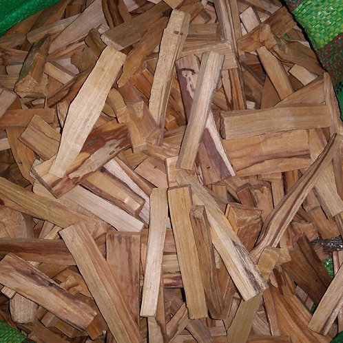 PALO SANTO 8 LBS (BURSERA GRAVEOLENS) HOLLY STICK FRESH ORGANIC ORIGINAL SCENT !