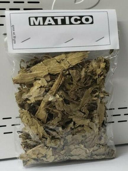 MATICO HIERBA 30 GR ANTIINFLAMATORIO RESFRIOS BRONQUIOS TOS 100% NATURAL