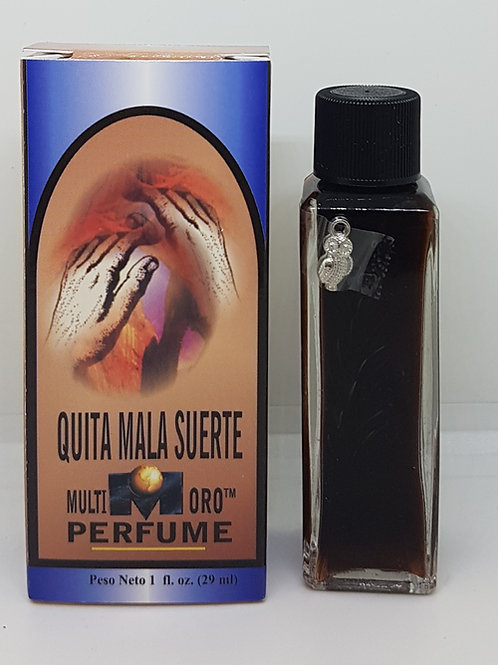 PERFUME ESPECIAL PREPARADO QUITA MALA SUERTE ORACION Y AMULETO GRATIS INCLUIDO !