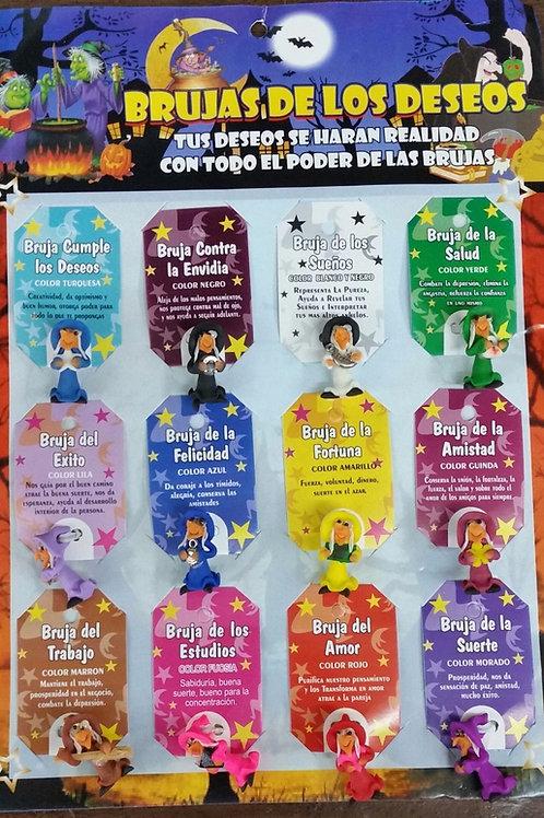BRUJAS DE LOS DESEOS PARA SUERTE Y PROTECCION 1 PCS BUY 2 PCS GET 1 FREE