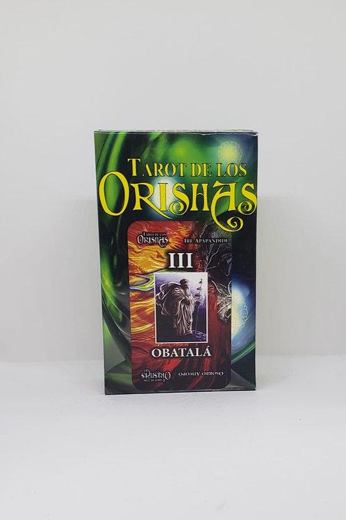 TAROT NEW DE LOS ORISHAS SANTERIA ORIGINAL 74 CARTAS INSTRUCCIONES INCLUIDAS !