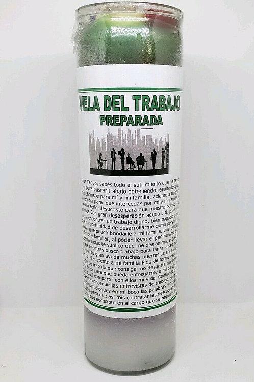 VELA PARA CONSEGUIR EMPLEO RAPIDO ORACION E INSTRUCCIONES INCLUIDAS!!