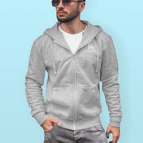 La Rica hoodie med lynlås