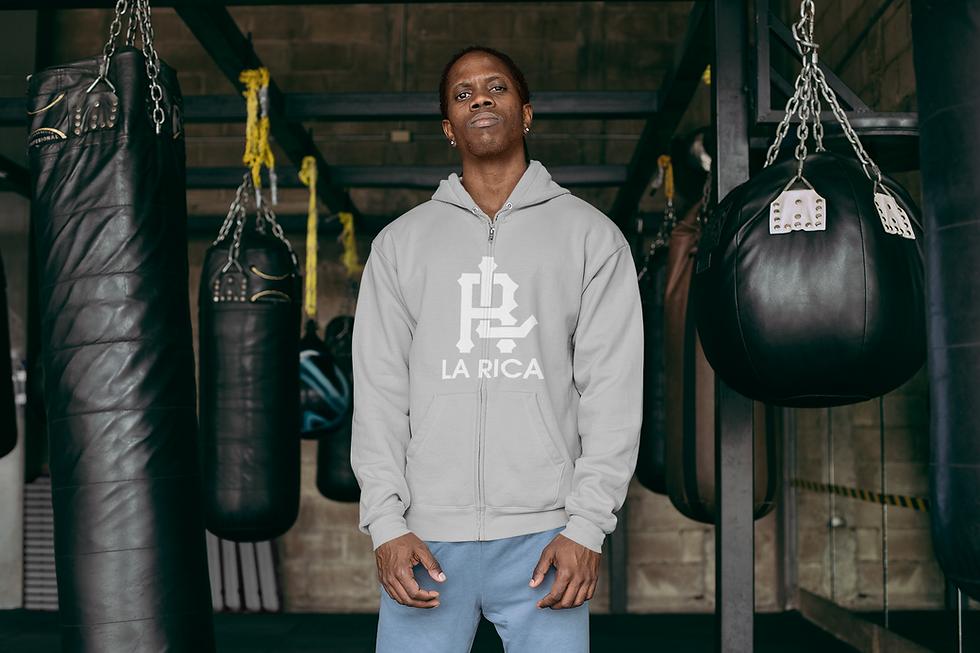 full-zip-hoodie-mockup-of-a-tough-lookin