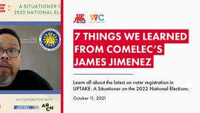 UP JMA Recap: 7 Things We Learned from COMELEC's James Jimenez