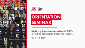 UP JMA Recap: #MoreWithMarketing Orientation Seminar