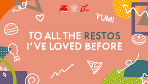 To All the Restos I've Loved Before