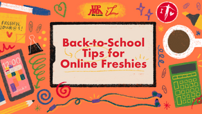 Back-to-School Tips for Online Freshies