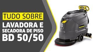 Bd 50/50 Lavadora e secadora de piso Karcher Mg Bh