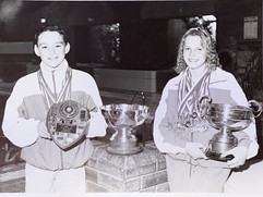 Ross McInroy & Laurie Caird Midland District Top Boy & Top Girl - 16/06/1995