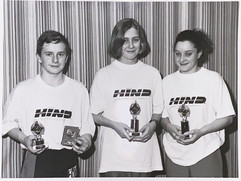 Scottish Age Development Squad - Ross Millar, Jenni Stewart & Candy Runge - 06/12/1991