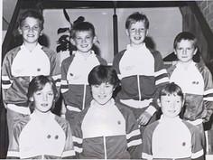Jenni Stewart, Jill Chalmers, Ceri Davies, Gary Pyott, Louis Duncan, Atholl McKay & Ross Miller - 09/07/1988